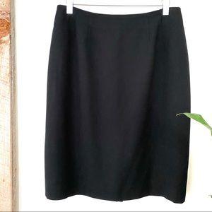 Linda Allard Ellen Tracy black pencil skirt